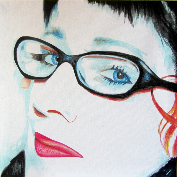 Portret Gerda Goudberg by Janet Plantinga