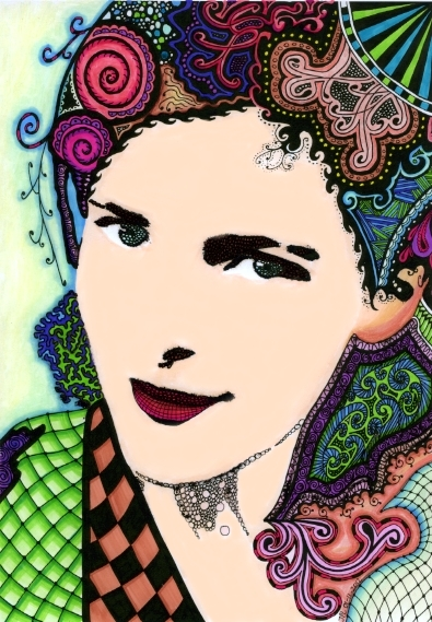 20130427 - Portret Hanny by Janet Plantinga