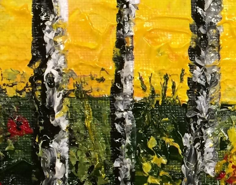 20140107 Allereerste schilderij met paletmes - bijgesneden - detail